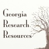 GA Genealogy Resources